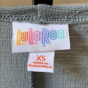 LuLaRoe Other - Gray LulaRoe Long Vest